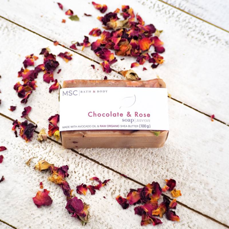 Chocolate & Rose Soap